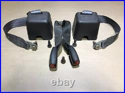 Jeep Wrangler TJ 1997-2002 Rear Seat Belt Set Buckle With Bolts FREE SHIPPING