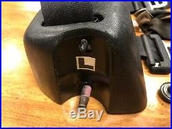 Jeep Wrangler YJ Rear Seat Belts family cage belt 92-95 back female buckle bolts