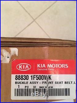KIA OEM 05-08 Sportage Front Seat Belt-Buckle Left 888301F500WK