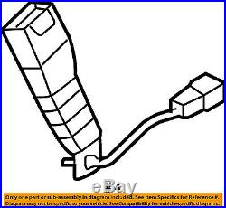 KIA OEM 05-08 Sportage Front Seat Belt-Buckle Right 888401F500EZ