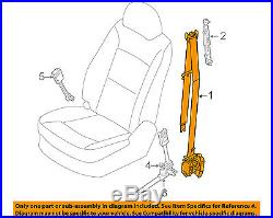 KIA OEM 11-13 Sorento Front Seat-Belt & Buckle Retractor Right 888201U501VA