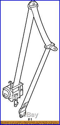 KIA OEM 11-16 Optima Front Seat-Belt & Buckle Retractor Left 888102T51087
