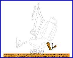 KIA OEM 12-15 Optima Front Seat Belt-Buckle Left 888304C000VA