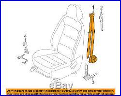 KIA OEM 14-16 Forte Koup Front Seat-Belt & Buckle Retractor Left 88810A7500WK