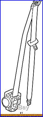 KIA OEM 14-16 Soul Front Seat-Belt & Buckle Retractor Left 88810B2500EQ