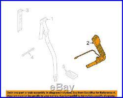 LAND ROVER OEM 07-12 Range Rover Front Seat Belt-Buckle Left LR017394