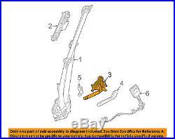 LAND ROVER OEM 13-16 Range Rover Front Seat Belt-Buckle Tensioner Left LR037465