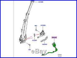 LAND ROVER SEAT BELT BUCKLE OUTER RANGE R. SPORT 2014 RH OEM NEW LR047619
