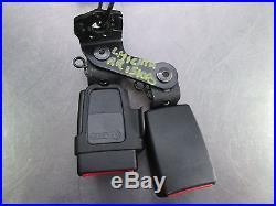 Left & Center Rear Seat Belt Buckle & Bracket 4G8857739 OEM Audi A7 S7 A6 C7 Q3
