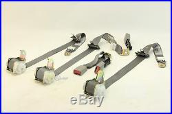 Lexus ES300 02-03 Seatbelt Seat Belt/Buckle Set Rear, Gray 73360-33110-C1