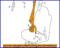 Lexus TOYOTA OEM GX460 Front Seat-Belt & Buckle Retractor Left 7322060510E0