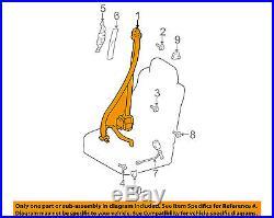 Lexus TOYOTA OEM RX300 Front Seat-Belt & Buckle Retractor Right 7321048050B0