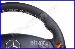 MB Mercedes ML GL W164 AMG Lenkrad Lederlenkrad Neu Beziehen Extra Dick Tuning