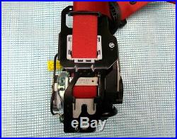 MERCEDES C W205 OEM FRONT DRIVER LEFT SIDE SEAT BELT RETRACTOR red