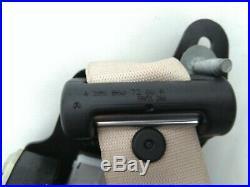 MERCEDES C W205 OEM FRONT PASSENGER RIGHT SIDE SEAT BELT RETRACTOR beige US type