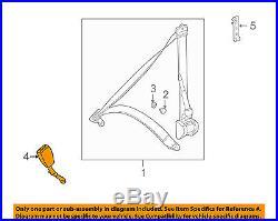MERCEDES OEM 98-00 C280 Front Seat Belt-Buckle Left 2108602569