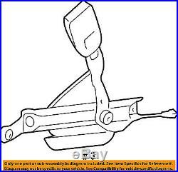 MERCEDES OEM CL600 Front Seat Belt-Buckle Left 22186017699051