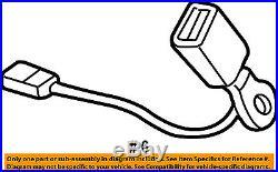 MITSUBISHI OEM 2007 Outlander Front Seat Belt-Buckle End Left 7000B206
