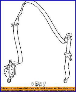 MITSUBISHI OEM Raider Front Seat Belt Buckle-Retractor Assy Left 5HQ271D5AA