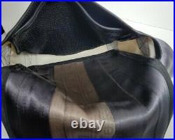 Mariclaro Messenger Bag Purse Recycled Seat Belt Buckle Car Parts Mari Cla Ro