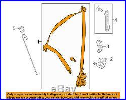 Mercedes MERCEDES-BENZ OEM Front Seat Belt-Buckle Retractor Left 16686015009C94