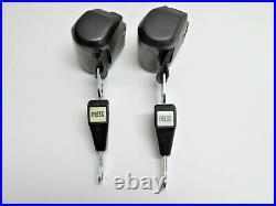 Mercedes R107 350sl 450sl Roadster Seat Lap Belt Belts Set With Buckles