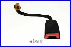 Mercedes Rear Seat Belt Receiver for Hole Buckle Right New OE W126 Coupe'86-'91