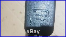 Mercedes S Class W221 Passenger Rear Left Seat Belt Buckle Latch A2218602369