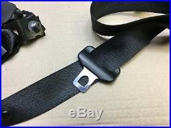 Mercedes W163 ML Rear Middle Seat Belt & Buckle Dark Grey A1638603785 Sn1706