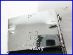 Mopar NOS 1966-67 Dodge Charger Seat Belt Buckle End BLACK 2802817