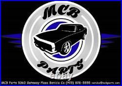 Morris Classic 3 Point Shoulder Front Seat Belt 67-69 Camaro Starburst Buckle