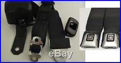 Morris Classic 3 Point Shoulder Front Seat Belt 70-73 Firebird GM Button Buckle