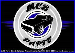 Morris Classic Front Seat 2 Point Retractable Belt OEM Buckle 67-69 Camaro