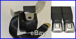 Morris Classic Shoulder 3 Point Rear Seat Belt 67-68 Camaro Starburst Buckle