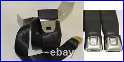 Morris Classic Shoulder 3 Point Rear Seat Belt 68-73 Chevelle Starburst Buckle