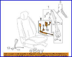 NEW GM OEM Front Seat Belt-Buckle Tensioner Left 19256046
