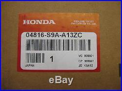 NEW HONDA SEAT BELT BUCKLE SET LFT. FRT. (P/N 04816-S9A-A13ZC) HONDA CR-V 05-06