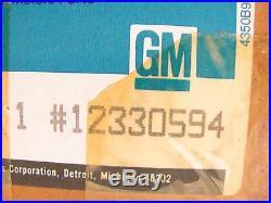 NEW OEM GM 12330594 FRONT RIGHT Seat Belt & Buckle Retractor 1988-90 Cavalier