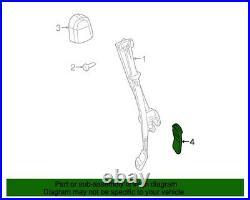 NEW OEM GM Front Seat Belt Buckle Neutral 88957874 Silverado Sierra 2001-2006