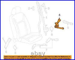 NEW OEM GM Passenger Front Seat Belt Buckle 19330801 Chevrolet Impala 2012-2013