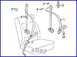 NEW OEM VW Volkswagen 2006-2009 Beetle Driver Sd Seat Belt Buckle Genuine