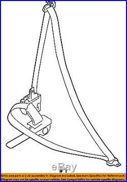 NISSAN OEM 08-13 Rogue Front Seat-Belt & Buckle Retractor Left 86885JM04A