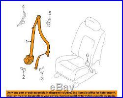 NISSAN OEM 09-12 Murano Front Seat-Belt & Buckle Retractor Left 868851AA5A