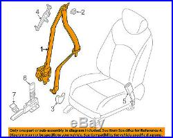 NISSAN OEM Front Seat-Belt & Buckle Retractor Right 868849NA3B