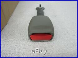 NOS 2003-2007 Silverado Sierra Rear Single Seat Belt Buckle (Pewter) 88955198 dp