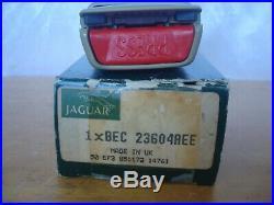 NOS JAGUAR XJS 94 95 96 FRONT PASSENGER SEATBELT SEAT BELT BUCKLE doeskin AEE