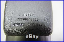 NOS Porsche Repa Seat Belt Buckle Left 92880318306 for 911 924 928 944 1974-1985