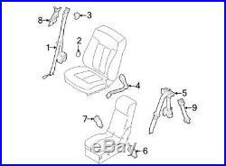 New Genuine OEM Driver Seat Belt Buckle Assembly 2008-2010 F150 AL3Z-1561203-AA