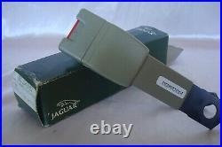 New JAGUAR XJS 92 93 DRIVER SEATBELT seat belt BUCKLE PARCHMENT HEZ