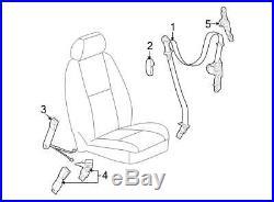 New Oem Left Side Front Seat Belt Buckle Ebony Avalanche Silverado Sierra Yukon